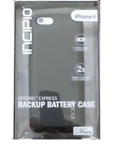 new style 591ff 1a3dc Details about Incipio OffGRID Express Backup Battery Charging Case for  Apple iPhone 6-4.7
