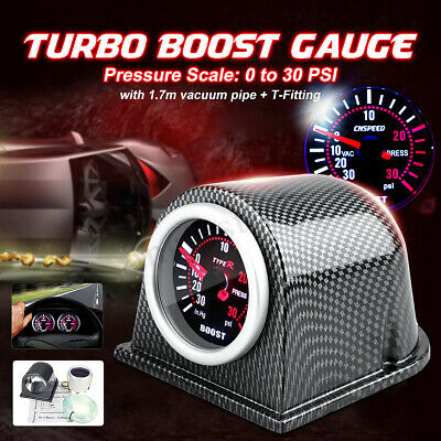 Carbon Fiber Pod Holder EC 2/'/' 52mm Universal Turbo Boost Vacuum Gauge Meter