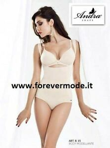Sweet-Tempered Body Donna Andra Modellante Ad Effetto Push Up Senza Seno In Microfibra Art B15 Great Varieties Biancheria Intima E Da Notte Donna: Abbigliamento