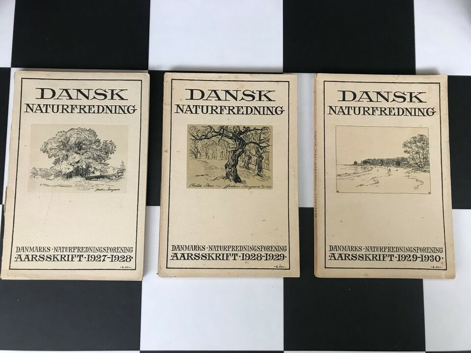 Dansk Naturfredning , Erick Struckmann (red) , emne: natur