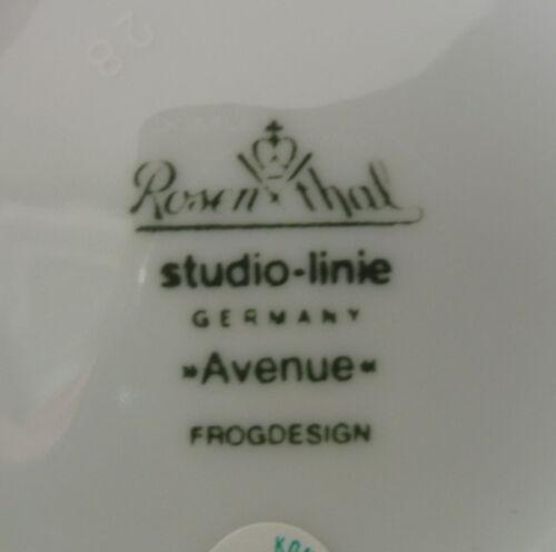 """Untertasse Avenue /"""" London /"""" v 854 Rosenthal Suppentasse"""