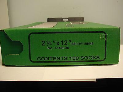 """2 1//4/"""" x 6/"""" TUFFY Milk Filter Socks 100"""