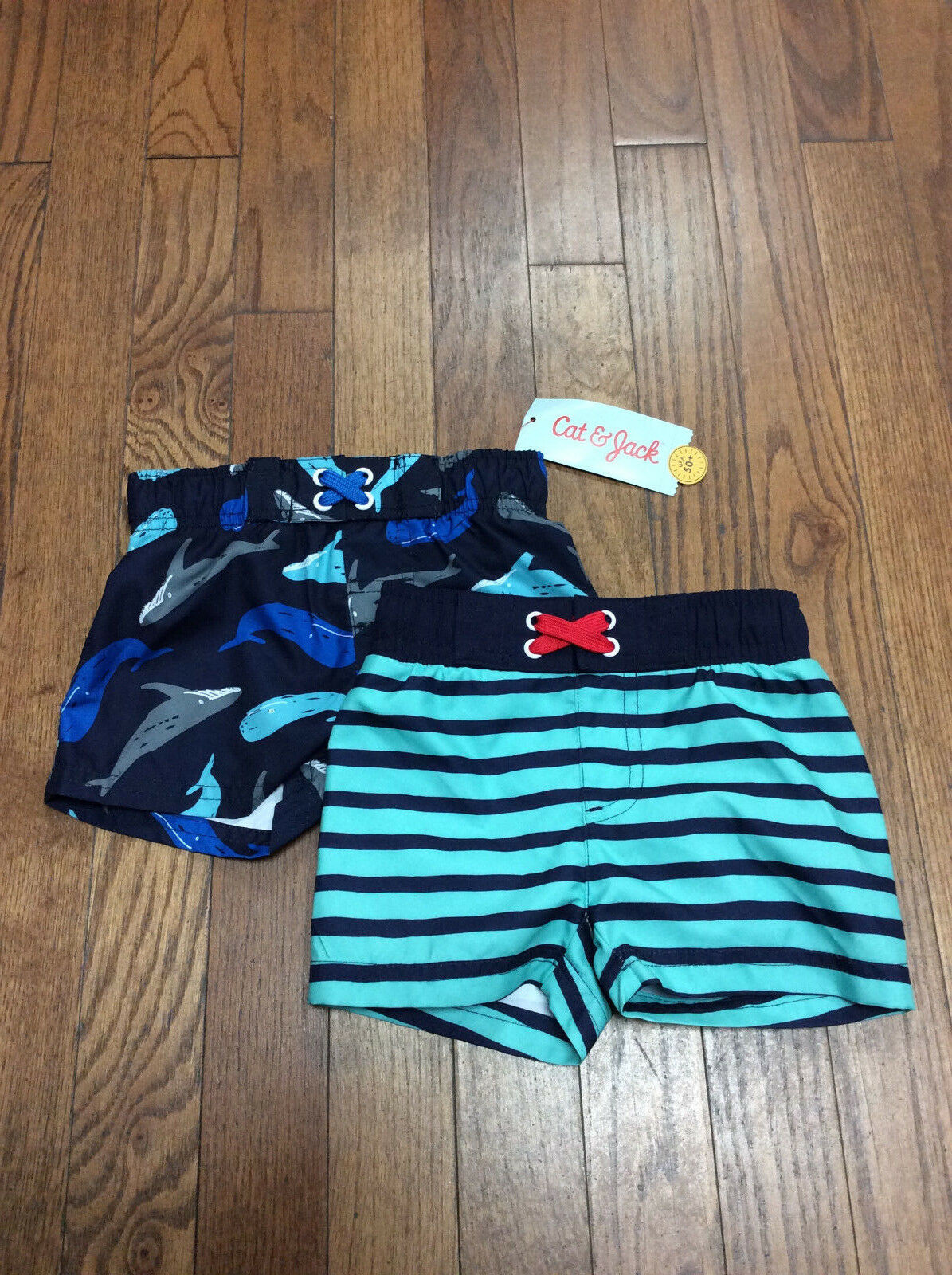 Cat And Jack Baby Boy Swim Shorts Size 6-9 Months
