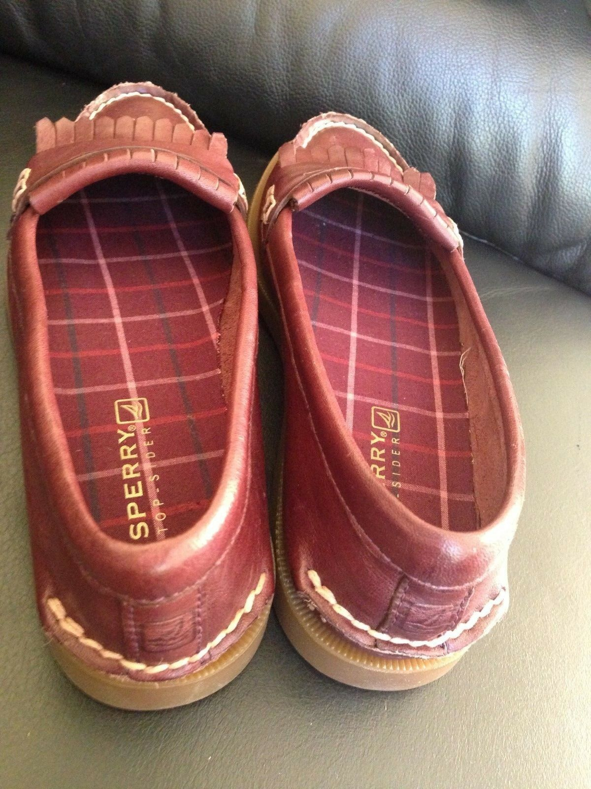 Sperry Top-Sider Women's Avery Dark Red Size 6.5M