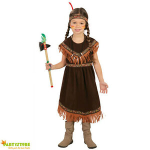 indiana carnevale bambina  costume carnevale indiana bambina 5/6 anni vestito travestimento ...