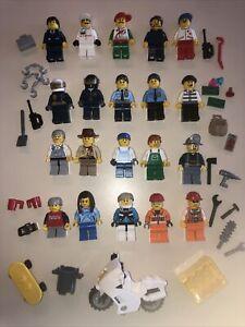 LEGO Minifigura Città La Gente + tonnellate di accessori-LOTTO FF
