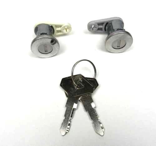 RENAULT 5 21 CLIO I EXPRESS DACIA LOGAN 04-09 DOOR LOCK BARREL SET CYLINDER KEYS