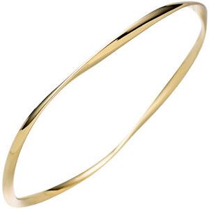 3mm-Armreif-Armband-Armschmuck-aus-925-Silber-in-Gelbgold-vergoldet-verdreht