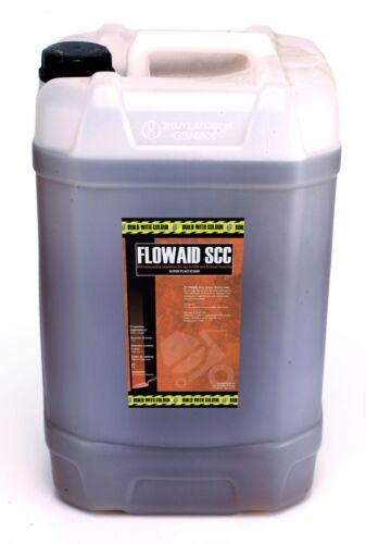 Hormigón Super plasticiser: 25litre Agua reducir flowaid SCC superplasticizer
