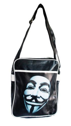 annonymous Vendetta Maske Retro Übernachtung//Fitnessstudio//Reisetasche//Flight