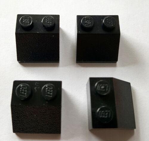 Lego Schrägsteine Dachsteine 4 Stück Schwarz 3039 45° 2x2 Lego System 27