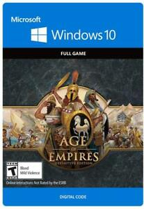 Details about Age of Empires Definitive Edition GLOBAL PC KEY Windows 10