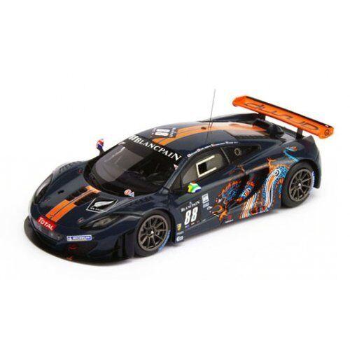McLaren mp4-12c gt3  88 9th 24h SPA 2012 parente Wills Barff good .1  18