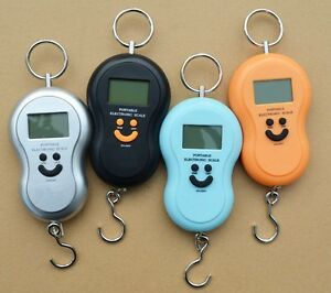 Hanging scale Hand Weighing Scale 40Kg Hanging KITCHEN scale digital scale