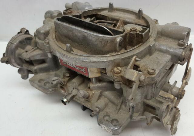 Edelbrock Performer 1406 performance 4 barrel 600 CFM electric choke carburetor