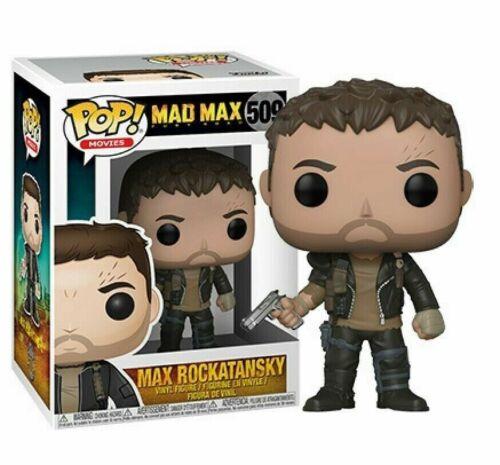 MAD MAX FURY ROAD Funko Pop MAX ROCKATANSKY Vinyl Figure #509