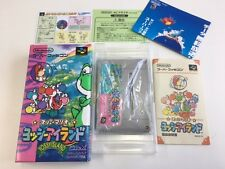 Nintendo Super Famicom SUPER MARIO YOSHI'S ISLAND Yossy JAPAN JP Box z1731