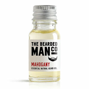 Mahogany-The-Bearded-Man-Co-Beard-Oil-10ml-Mustache-Moustache-Movember-Tash