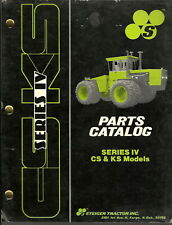 Steiger Series Iv Cs Amp Ks Tractor Models Parts Manual