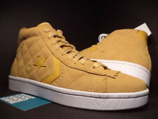 CONVERSE PRO LEATHER UND UNDFTD UNDEFEATED TAFFY BROWN GOLD WHITE 137374C NEW 12