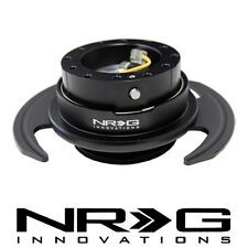 NRG 3.0 Gen Steering Wheel Quick Release Hub - Black / Black Ring | SRK-650BK