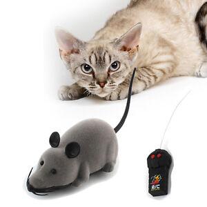 Jouet-Animaux-Souris-Telecommande-Rotatif-Sans-Fil-Pour-Chien-Chat-Souris-cat