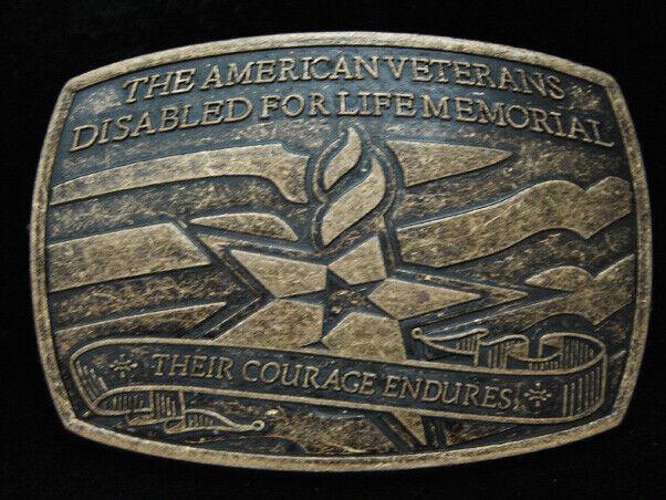 PF09114 Nummern 2007 American Veteranen für Behinderte Für Leben Denkmal Gürtel