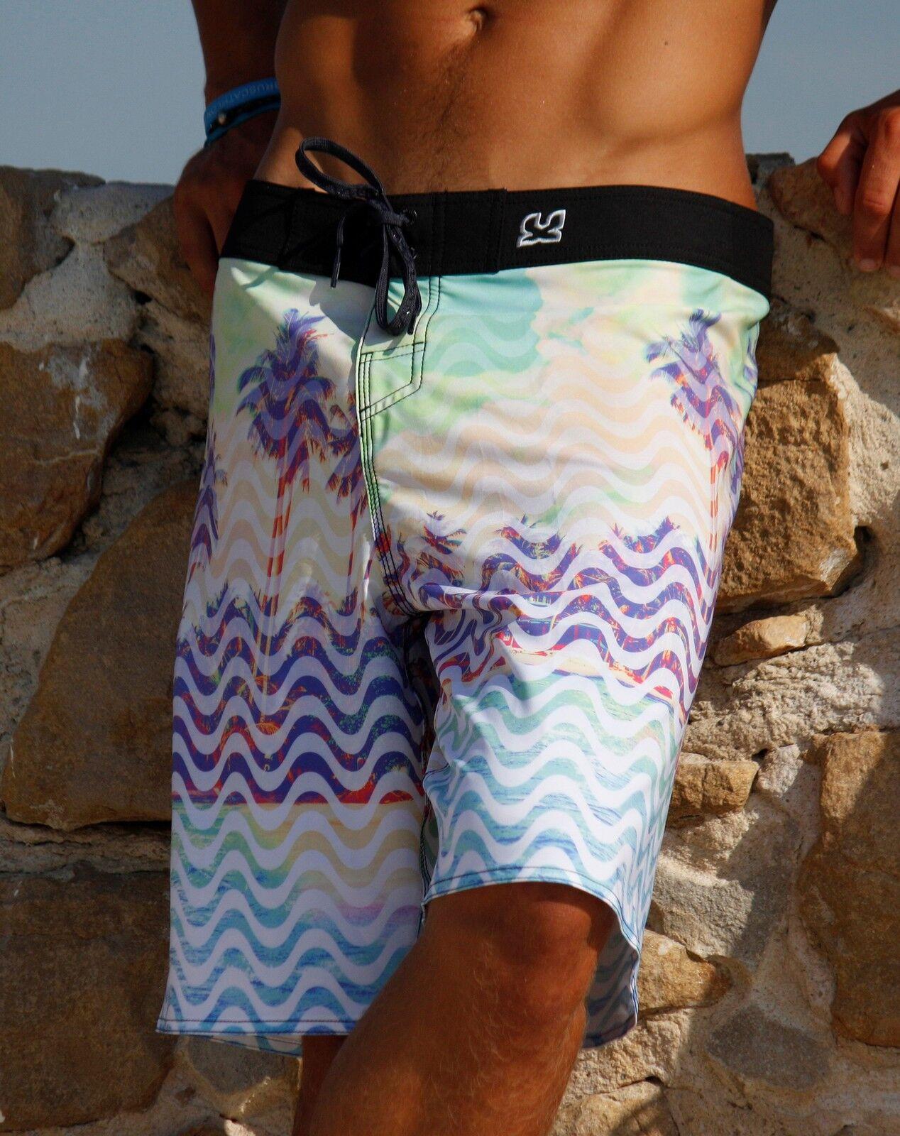 Waxx  Mens  Lands  Surf Shorts