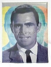 """Twilight Zone Rod Serling Vintage style  2"""" x 3"""" Fridge MAGNET art NOSTALGIC"""