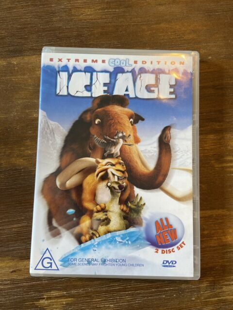 Ice Age (DVD, 2005, 2-Disc Set, Extreme COOL Edition Widescreen)