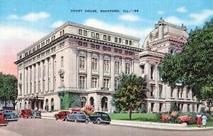 Postcard-Court-House-Rockford-Illinois