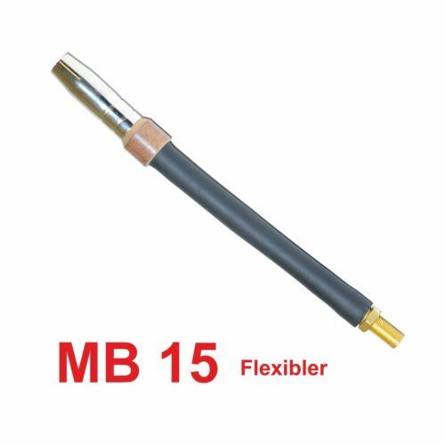 AK Brennerkörper MIG//MAG Flexibler Brennerhals MB15 TBI 150 SH15 FX