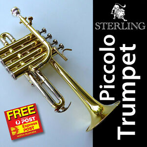 Sterling-Pro-Piccolo-Trumpet-SWTR-377-Bb-Monel-Valves-Free-Express