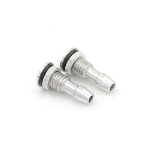 En aluminium 2Pcs M6 sortie d/'eau Filetage Avec O-Ring Vis pour RC Bateau 20 mm ^ D