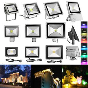 LED-Fluter-mit-Bewegungsmelder-10W-20W-50W-100W-300W-Aussen-Strahler-Scheinwerfer