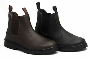 Blackrock-Leather-Dealer-Chelsea-Slip-On-Steel-Toe-Cap-Safety-Work-Boots-Shoes