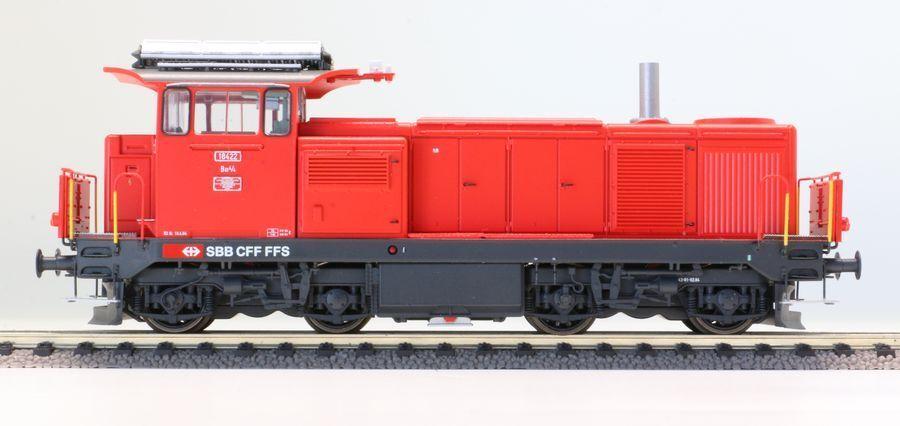LS Models 17069 h0 DC Diesel bm4/4  18422sbb ep6b verkehrsrot CON CAMINO