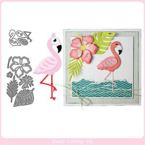 Stanzschablone-Flamingo-Tier-Weihnachten-Hochzeit-Oster-Geburstag-Karte-Album
