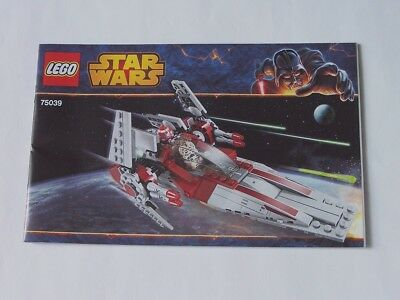 Aggressivo Lego ® Recipe/instruction N. 75039-mostra Il Titolo Originale Estremamente Efficiente Nel Preservare Il Calore