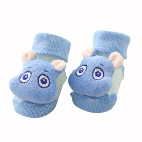 Newborn Baby Toodler Kid Toddler Anti Slip Shoes Cartoon Slipper Floor Sock Boot