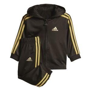 Outlet-Store Qualität und Quantität zugesichert Shop für echte Details zu Adidas, Baby-Jogger Shiny Trainingsanzug Jacke-Hose-Set, Kombi.  CF7396