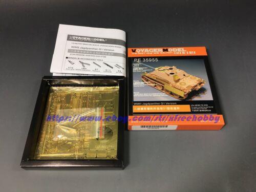 For MENG TS-039 Voyager PE35955 1//35 WWII Jagdpanther G1 Version Detail Set