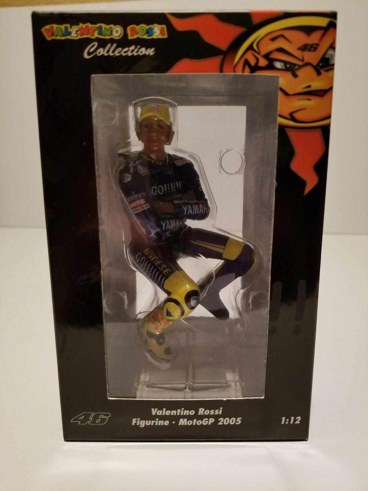Minichamps 1 12 Valentino Rossi Motogp 2005 FIGURINE ASSIS Casquette Jaune