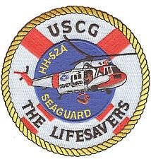 HH-52A Seaguard helicopter W5136 USCG Coast Guard patch Lifesavers pre-stripe