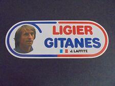 Sticker autocollant : Ligier Gitanes - J. Laffite