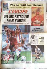 L'Equipe Journal 20/9/1997; Pas de répit pour schumi/ Coupe Davis/ Brive pour ou