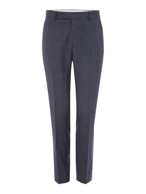 RICHARD JAMES MAYFAIR - BNWT - Melange Birdseye Wool Trousers - Petrol - 34R