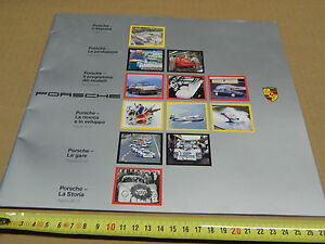 DEPLIANT-PROMO-ORIGINALE-1986-PRODUZ-PORSCHE-ITA-911-TURBO-CARRERA-928-ETC