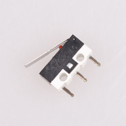 50x Hinge Lever Arm SPDT 1NO 1NC Momentary Micro Switches 3 Terminals AC 125V 1A