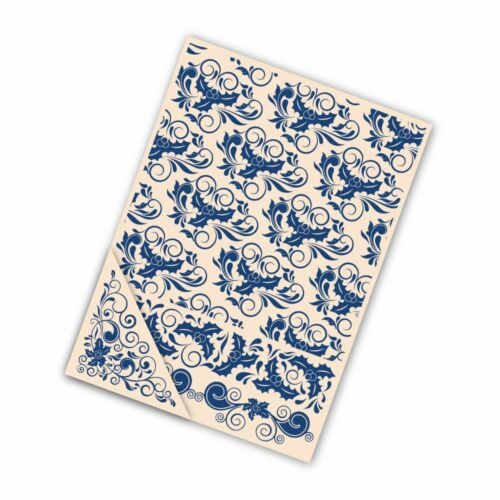 STEPHANIE WEIGHTMAN Tattered Lace EMBOSSING Folders x 4  HOLLY FLOURISH EF008